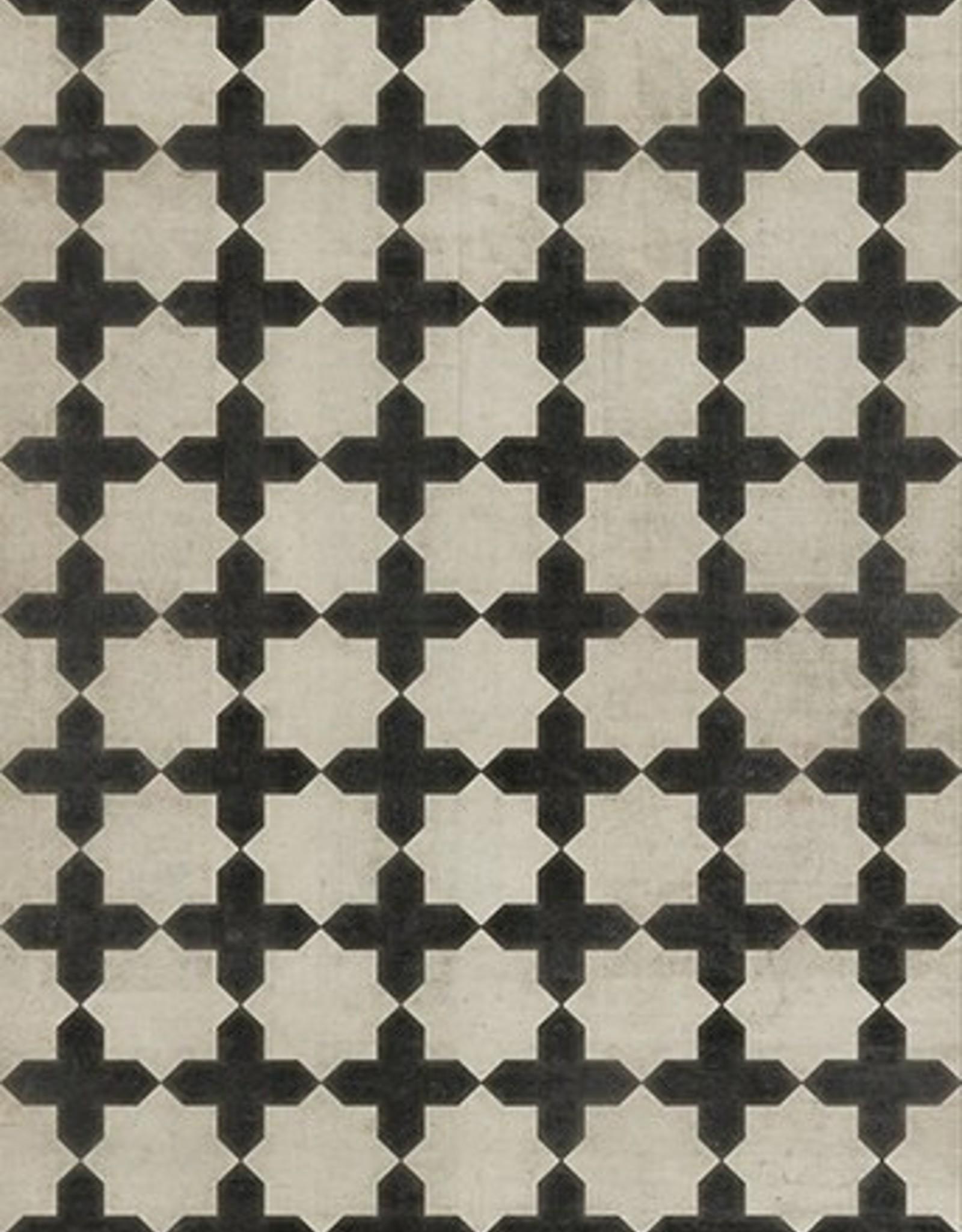 Coptic Vintage Vinyl Floorcloth 70x102