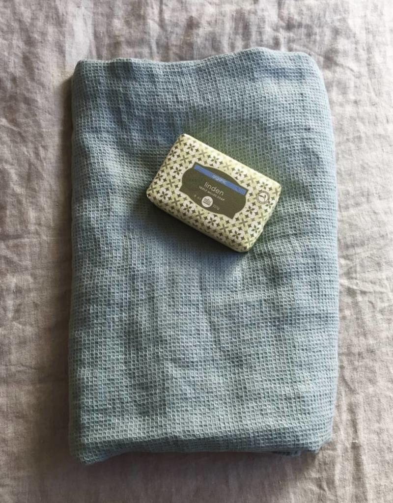 Linge Particulier Waffle Bath Towel - sage