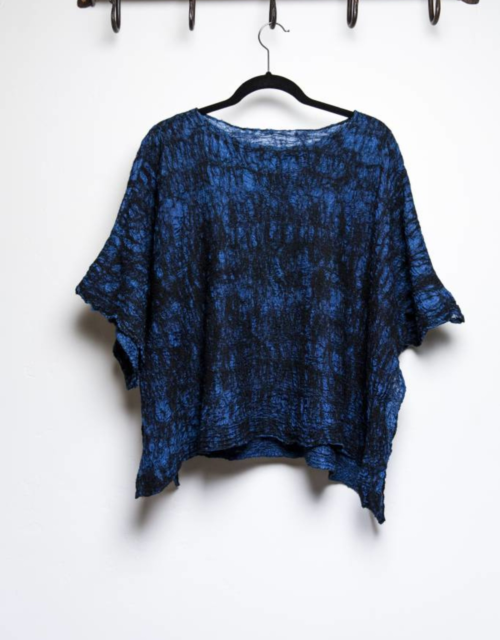 Piccolo Top - Black & Indigo