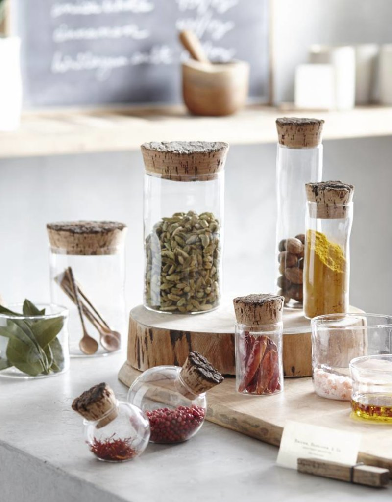 Corked Canister - small
