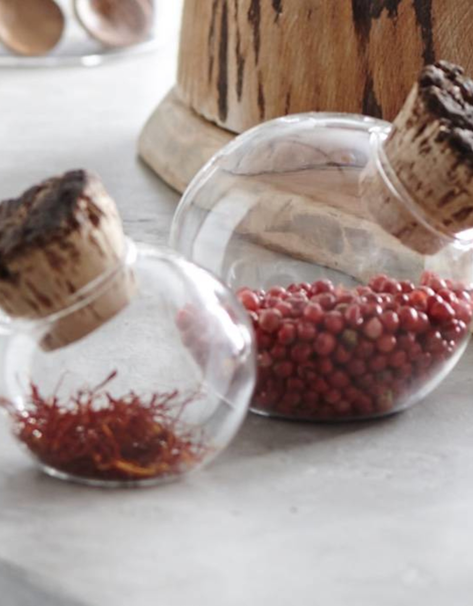 Corked Spice Sphere - Large