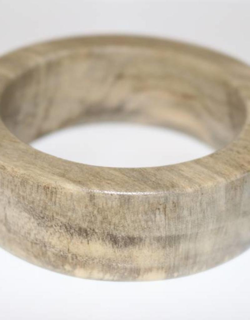 Claire Obeche Wood Bangle by Atelier Calla