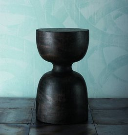Solid Mango Ebonized Stool
