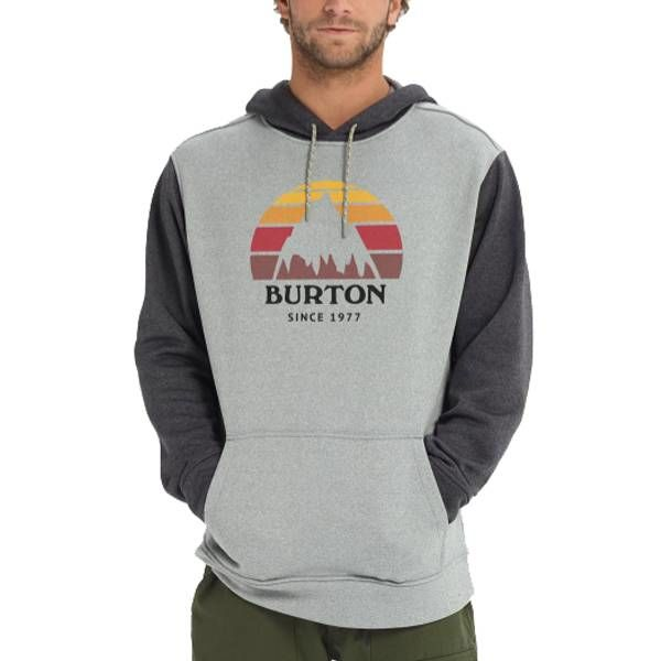c39cf4bfc6b1 Burton Men s Oak Pullover Hoodie - Yellow Turtle