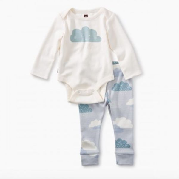 Tea Collection Tea Collection 2-Piece Bodysuit Baby Outfit
