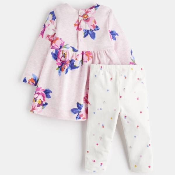 Joules Joules Baby Christina Dress and Legging Set