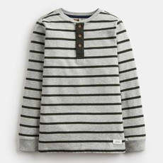 Joules Joules Boys Henley Half Button Top