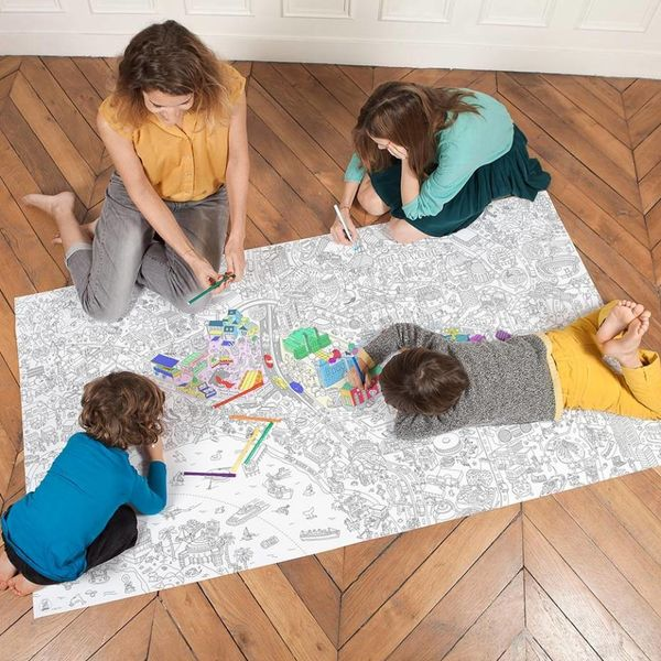 OMY Design OMY Design Giant XXL Coloring Posters
