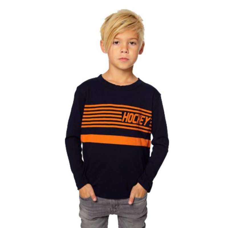 Chaser Kids Chaser Boys LS Hockey Tee
