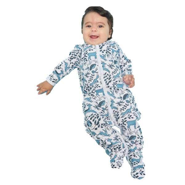 Roller Rabbit Roller Rabbit Infant Winterland Footie Pajamas