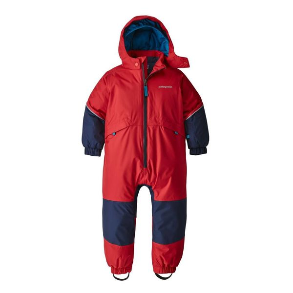 Patagonia Baby Snow Pile One Piece Yellow Turtle