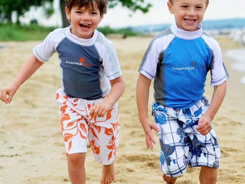 Boys 2T-7 Swimwear