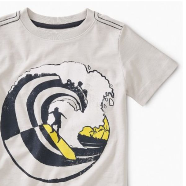 Tea Collection Tea Collection Boys Wave Rider Graphic Tee