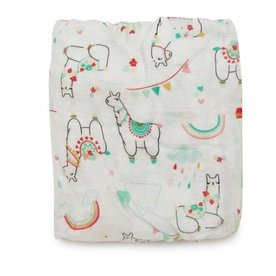loulou LOLLIPOP loulou Lollipop Crib Sheet