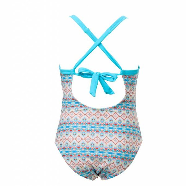 Snapper Rock Snapper Rock X Back Tie Swimsuit