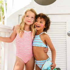 Snapper Rock Snapper Rock Girls Halter Bikini - Size: 6
