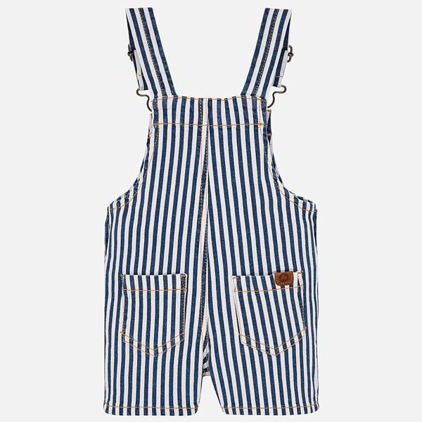 Mayoral Mayoral Baby Boy Striped Dungaree