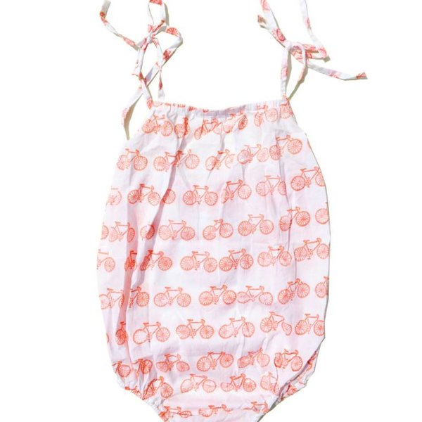 Eight Thousand Miles Eight Thousand Miles Baby Strappy Romper