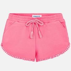 Mayoral Mayoral Girls Chenille Shorts