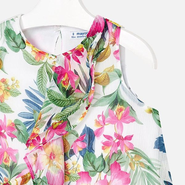 Mayoral Mayoral Girls Tropical Dress