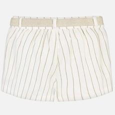Mayoral Mayoral Girls Striped Shorts