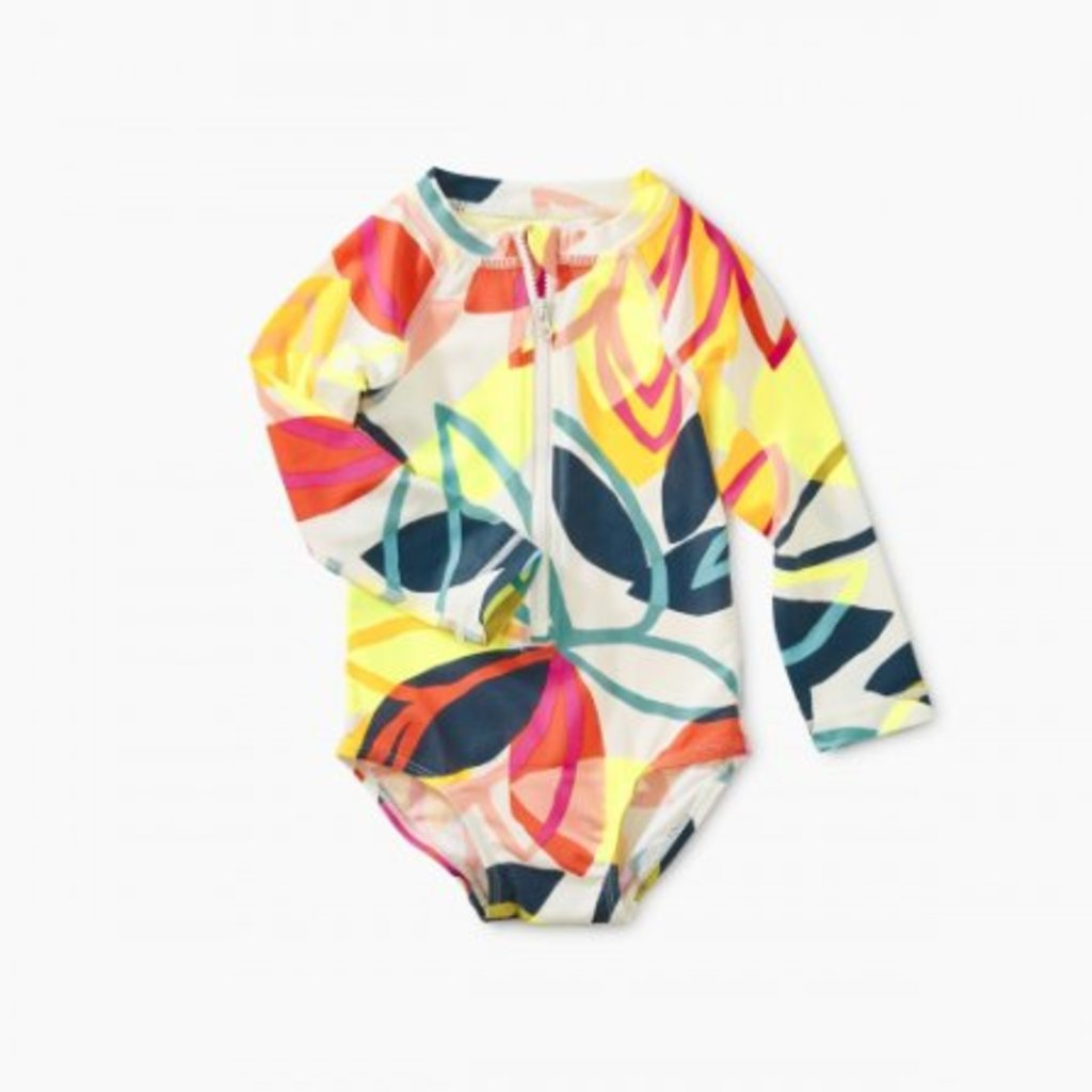 Tea Collection Tea Collection Baby Rash Guard One Piece - Size: 12-18 Month
