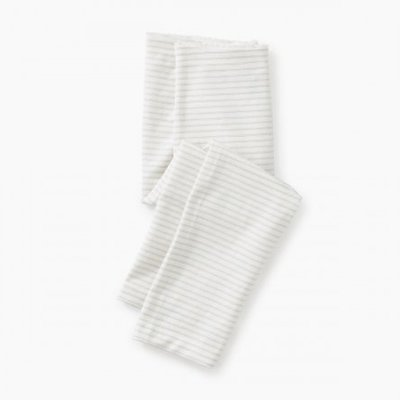 Tea Collection Tea Sparkle Stripe Capri Leggings - Size: 3