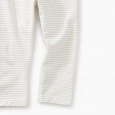 Tea Collection Tea Collection Girls Sparkle Stripe Capri Leggings - Size: 3
