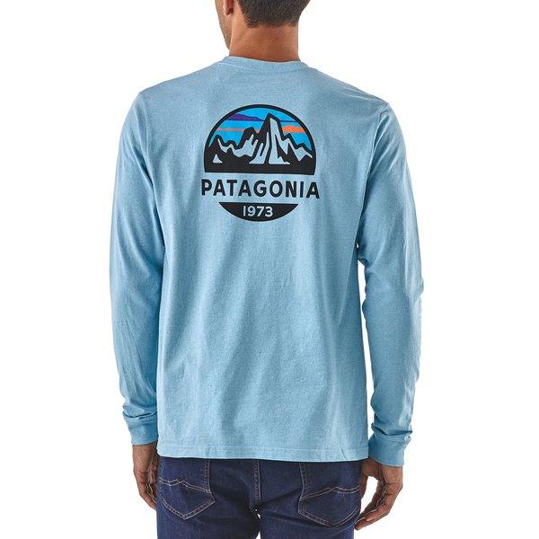 Patagonia Patagonia Mens Long-Sleeved Fitz Roy Scope Responsibili-Tee