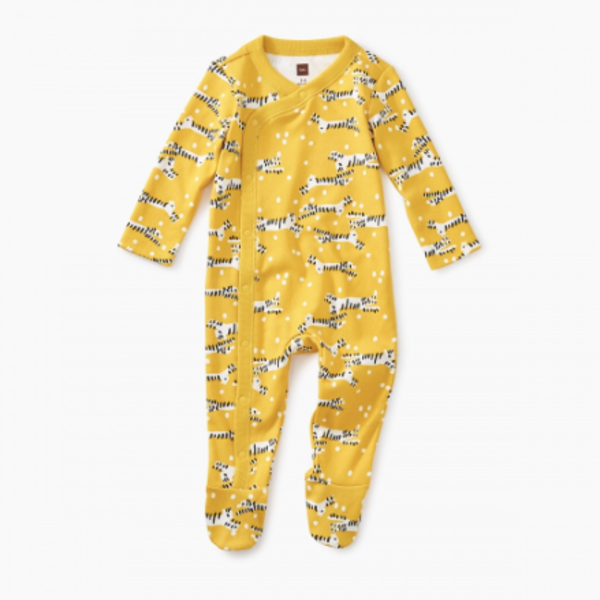 Tea Collection Tea Collection Baby Footed Romper