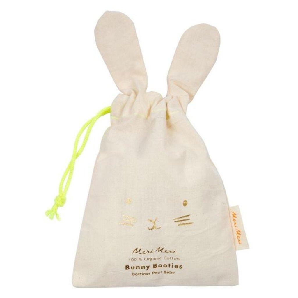 Meri Meri Knitted Organic Baby Booties - Size: 0-6 Months