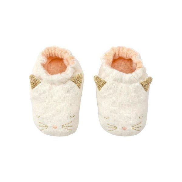 Meri Meri Knitted Organic Baby Booties