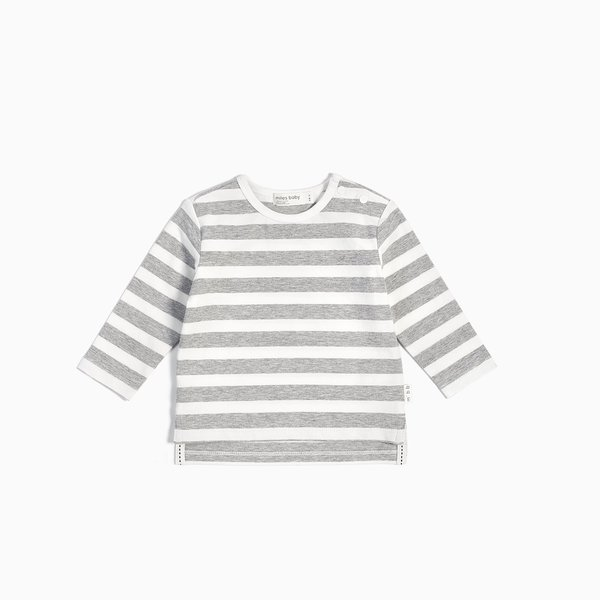 Miles Baby Miles Baby Kids Long Sleeved Stripe T-Shirt