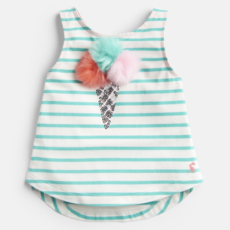 Joules Joules Lou Luxe Tie Back Tank