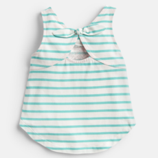 Joules Joules Lou Luxe Tie Back Tank - Size: 4