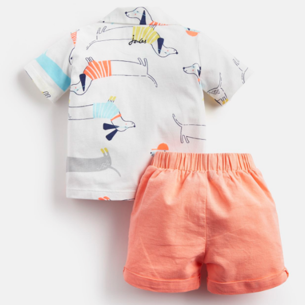 Joules Joules Ernest Polo Top and Short Set