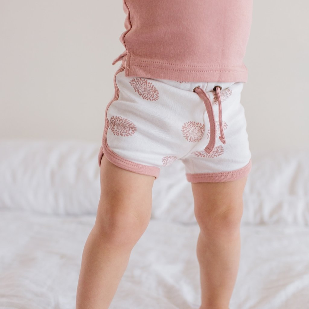 L'ovedbaby L'ovedbaby Organic Baby Track Shorts