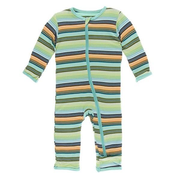 KicKee Pants KicKee Pants Print Coverall Zipper