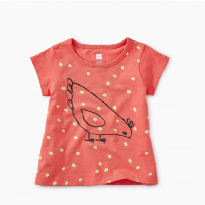 Tea Collection Tea Baby Red Hen Tee