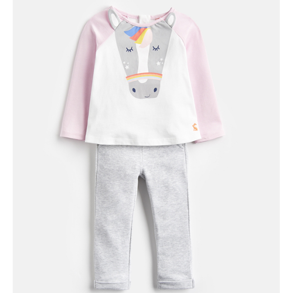 Joules Joules Baby Amalie Top & Pant Set