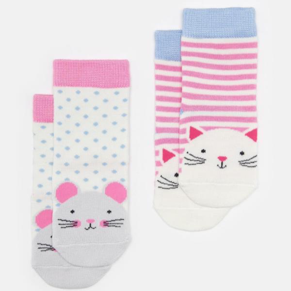 Joules Joules Baby Neat Feet Socks 2PK