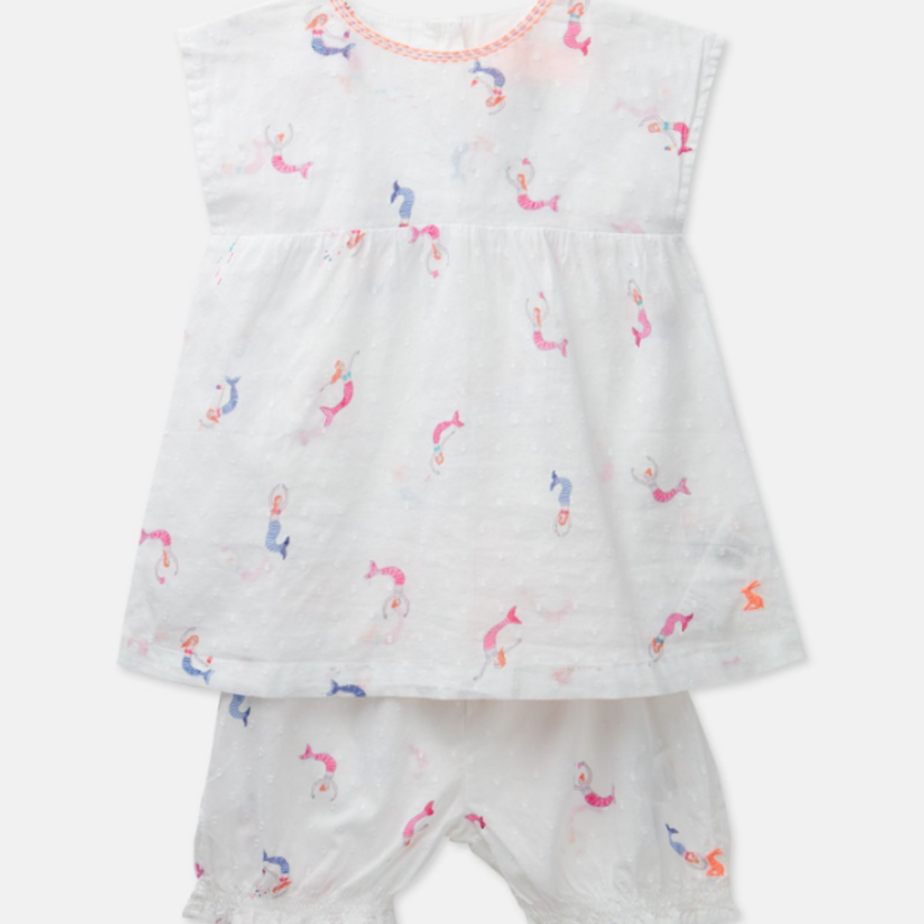 Joules Joules Baby Edith Top & Shorts Set - Size: 3-6 Months
