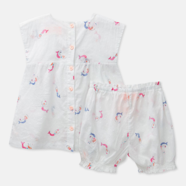 Joules Joules Baby Edith Top & Shorts Set