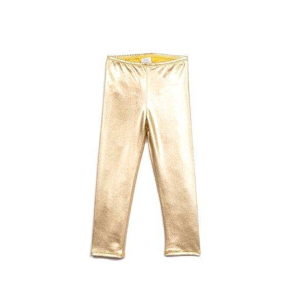 EGG New York EGG Tiffany Gold Leggings