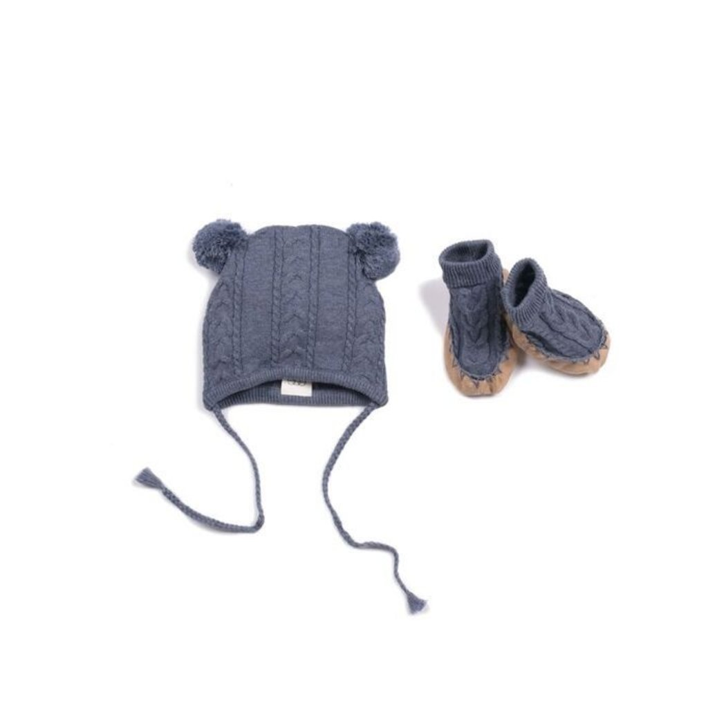 EGG New York EGG Quinn Cable Hat Set - Size: 6 Months