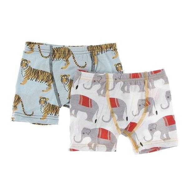 2fd097f4dca7 KicKee Pants Boxer Brief Set - Yellow Turtle