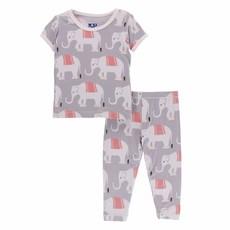 KicKee Pants KicKee Pants Kids Short Sleeve PJ Sets