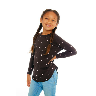 Chaser Kids Chaser Girls Shirttail Tee