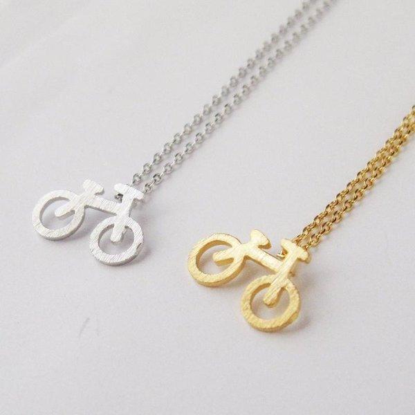 Rebecca Bike Necklace