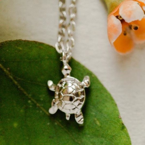 Rebecca Turtle Necklace